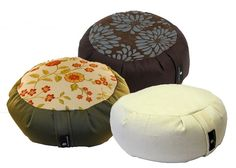 Round Zafus by Hugger Mugger : Premium Fabrics, Buckwheat Fill