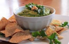 Cilantro Lime Hummus | All Recipes Vegan - Vegan and vegetarian recipes and products  ( I used spinach instead of cilantro )