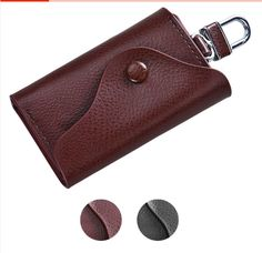 Cheap men leather wallet, Buy Quality wallet car directly from China leather man case Suppliers: Fashion Men Leather Wallet Car Key Chain Holder 6 Ring Pouch Case Key Wallet, Key Pouch, Pouch Bag, Leather Key Holder, Leather Key Case, Leather Wallet, Mens Keychains, Car Key Ring, Key Bag