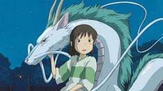 Where can you watch Hayao Miyazaki's films like Spirited Away, Princess Mononoke, My Neighbor Totoro, and Castle in the Sky? In a major deal with Ghibli, it'll be HBO's new streaming service. Hayao Miyazaki, Spirited Away Anime, Studio Ghibli Spirited Away, Haku Spirited Away Dragon, Disney Animation, Spirited Away Wallpaper, Chihiro Y Haku, Film Anime, Studio Ghibli Movies
