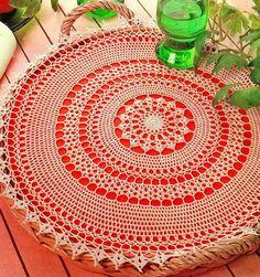 Crochet Art: Crochet - Crochet Lace Doily - Simple