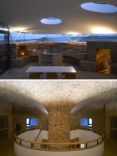 Getting ready for the Zombie Apocalypse: Martello tower fortress interior design