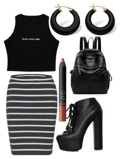 Untitled #6 by huetpaula on Polyvore featuring polyvore fashion style Gucci Palm Beach Jewelry NARS Cosmetics clothing   #lookbook #outfit