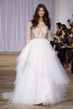 Haute couture   les plus belles robes de mariée. 2016 Wedding DressesInes  Di Santo ... 44cca0b31fa