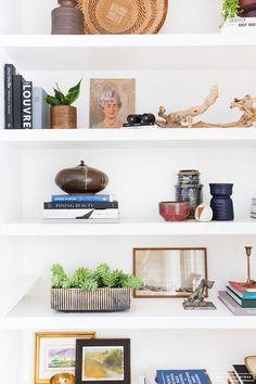 white bookshelves for your favorite reads