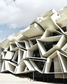 Arquitecture is a visual art and the buildings speak for themselves. Arquitecture is a visual art an Landscape Architecture Model, Parametric Architecture, Parametric Design, Unique Architecture, Architecture Student, Futuristic Architecture, Facade Architecture, Parametrisches Design, Facade Design