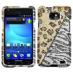 Insten Hottie Diamante Phone Case Cover for Samsung Galaxy S II/ S2/ Attain i777 #1118752