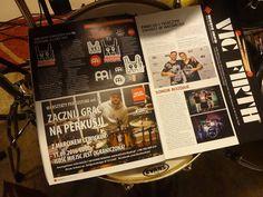 marcin lewicki - magazyn perkusista - lipiec - 2016-2