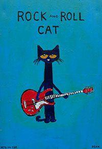 Rock n roll cat 2012