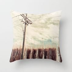 Potential Energy by D. Porter Throw Pillow by eclectiquexx - $20.00