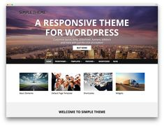 Simple - WordPress Theme