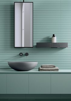 White-paste 3D Wall Cladding BOLD SALVIA by Marca Corona