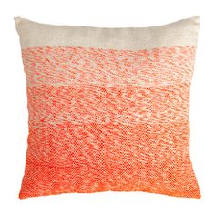 Shayla Square Pillow in Orange
