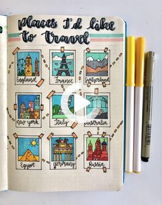 Bullet Journal School, Bullet Journal Inspo, Bullet Journal Headers, Bullet Journal Travel, Bullet Journal Banner, Bullet Journal Writing, Bullet Journal Aesthetic, Bullet Journal Themes, Bullet Journal Spread