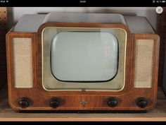 early 50s TV set Germany