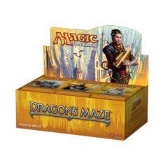 #Win a Dragons Maze Booster Box #mtg  #magicthegathering