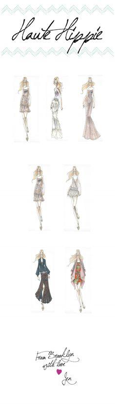 fashion drawings #sketches #blog #hautehippie