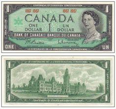 photography money cash 1967 Canada Centennial One Dollar Bill Photography Jobs Online Canadian Coins, Canadian Dollar, Canadian History, Elizabeth Ii, Dollar Bills, Dollar Coin, Expo 67 Montreal, Valuable Coins, Montreal Canada
