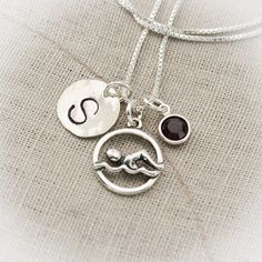 Hey, I found this really awesome Etsy listing at http://www.etsy.com/listing/129795986/swimmer-charm-necklace-hand-stamped
