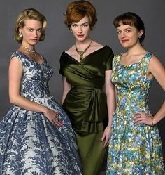 Any outfit from MAD MEN is delicious