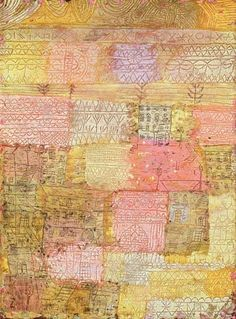 Paul Klee - Florentine residential district, 1926 (no 223) (oil on cardboard)