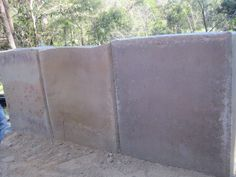 Love these rammed earth blocks