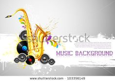 stock-vector-illustration-of-saxophone-and-speaker-on-abstract-background-103356149.jpg (450×320)