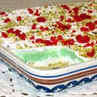 Pistachio Cream Pie - This is a fantastic refreshing summer dessert.  Do to our liking I use pecans in the crust and as a topper.  Since the family is not fond of maraschino cherries, these are eliminated.  This recipe can also be made with chocolate pudding and chocolate shavings along with the nuts.