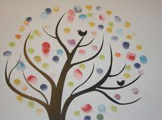 Træ med fingeraftryk