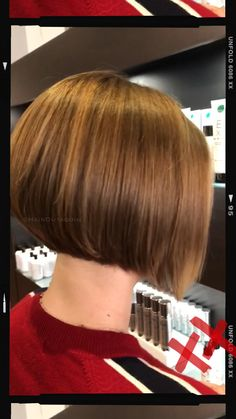 Most up-to-date Snap Shots Short Bob ❤️ Tips Who developed the Bob hair? Bob has been leading the group of trend hairstyles for decades. Bob Haircuts For Women, Short Layered Haircuts, Short Hairstyles For Thick Hair, Short Grey Hair, Layered Bob Hairstyles, Short Hair With Layers, Short Hair Cuts, Wedge Bob Haircuts, Short Inverted Bob