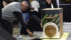 TRC Bent wood box Inuit face - Google Search