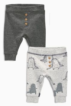 Buy Two Pack Dino Joggers (0-18mths) from the Next UK online shop fc95f0244be5f