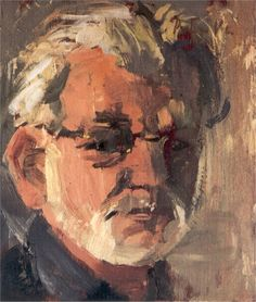 Petran Vermeulen, Self-portrait, Oil on canvas Oil On Canvas, Portrait, Painting, Headshot Photography, Painted Canvas, Paintings, Oil Paintings, Draw, Portraits