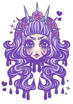 Pastel Goth Princess by MissJediflip