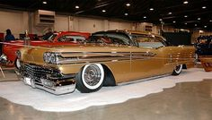 Beautiful 1958 Oldsmobile Super 88 owned and designed by John D'Agostino called the Egyptian.