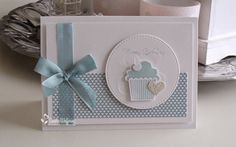 Made by Sandra: Happy Birthday! Such a daring cupcake card, just love it! Birthday Cards For Women, Handmade Birthday Cards, Happy Birthday Cards, Greeting Cards Handmade, Mother Card, Beautiful Handmade Cards, Scrapbook Cards, Scrapbooking, Card Making Inspiration