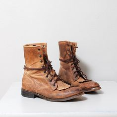 In need of a pair of these vintage leather boots for winter!!