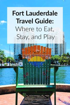 A guide of where to stay what to do and where to eat in Fort Lauderdale Florida. The beaches and downtown Las Olas Fort Lauderdale area is bustling with new restaurants shopping and things to do. Visit Florida, Florida Vacation, Florida Travel, Florida Beaches, Vacation Spots, Florida Keys, Vacation Rentals, South Florida, Fort Lauderdale Nightlife