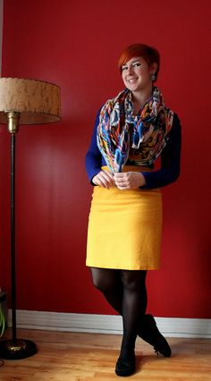 Clodo for Wardrobe Remix - love the colors, especially the fun scarf!