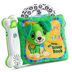 LeapFrog My First Scout Book is a favorite toy that our 1 year old loves. This would make a great gift, It's super popular and something he really loves.