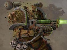Warhammer 40000,warhammer40000, warhammer40k, warhammer 40k, ваха, сорокотысячник,фэндомы,Chaos (Wh 40000),nurgle,plague marine