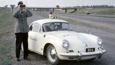 Porsche 1600 Super police, Finlande 1961.