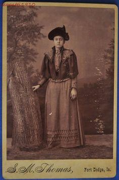 Cabinet Photo Woman Full View Thomas Fort Dodge Iowa IA