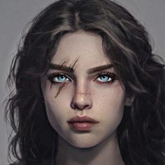 Female Character Inspiration, Fantasy Character Design, Character Aesthetic, Character Art, Digital Art Girl, Digital Portrait, Portrait Art, Fantasy Characters, Female Characters