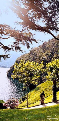 Italia bella - Lombardia - Como - Gardens of Villa del Balbianello, Lake Como Italy