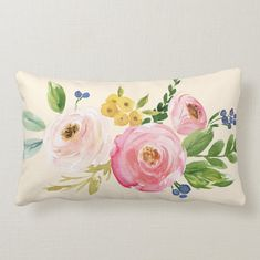 Floral Couch, Floral Pillows, Contemporary Bedroom Decor, Boho Throw Pillows, Vintage Floral Fabric, Girls Bedroom, Bedroom Ideas, Bedrooms, Shabby Cottage