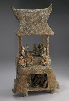.House Group  Artist Unknown (Nayarit) (Mexico, Central America), 200 B.C.-400 A.D.