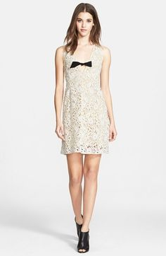 Burberry+Prorsum+Sleeveless+Floral+Macramé+Lace+Dress+available+at+#Nordstrom