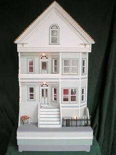 Susan Ovetoom, Susie O's Dollhouses - San Franciscan row house, 1:24 scale