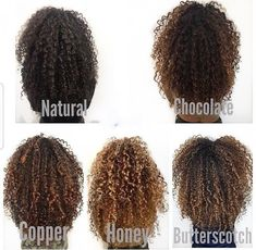 33 trendy ombre hair color ideas of 2019 - Hairstyles Trends Curly Hair Salon, Dyed Curly Hair, Curly Hair Styles, Colored Curly Hair, Dyed Natural Hair, Curly Hair Tips, Natural Hair Highlights, Hairstyles For Curly Hair, 3c Hair